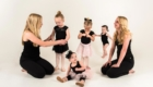 young girls at tueller school of dance